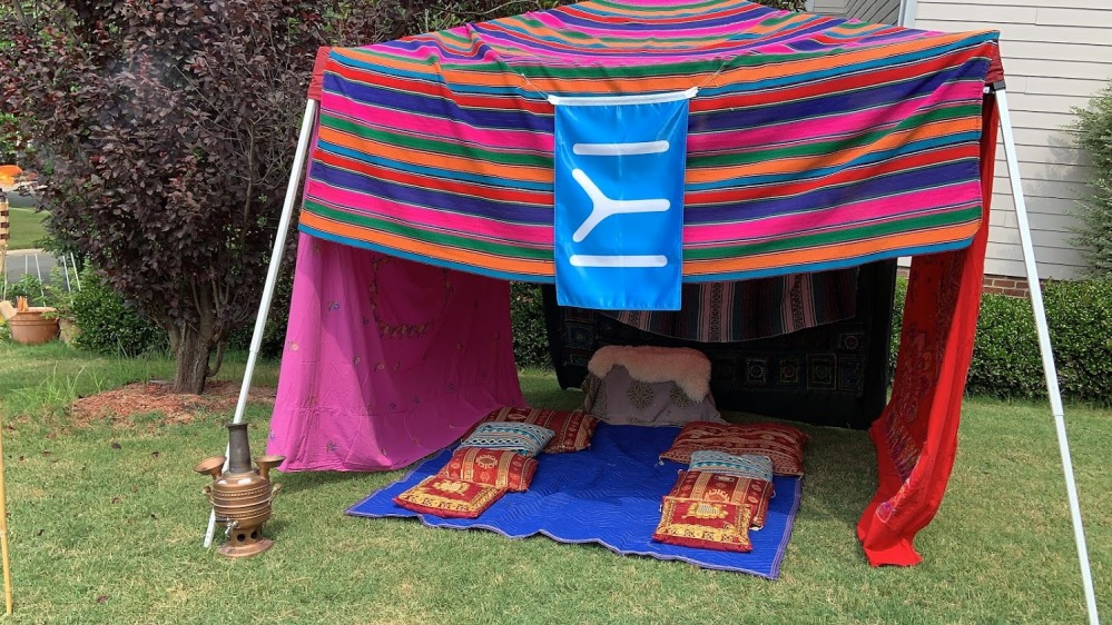 Ertugrul Themed Party - DIY Kayi Tent